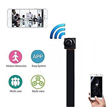 Mini WiFi 1080p HD Spy Hidden IP Camera Wireless DIY Module DVR Nanny Micro Cam