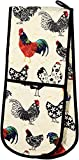 two handed oven mitt - Ulster Weavers Rooster Double Oven Glove