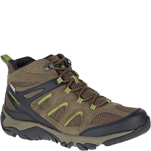 Merrell Men's Outmost Mid Vent Waterproof Hiking Boot, Bould