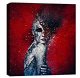 Cortesi Home ''Indifference'' by Mario Sanchez Nevado Giclee Canvas Wall Art, 40 by 40-Inch