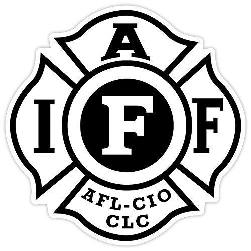 Fire Fighters International Association IAFF Sticker Decal Vinyl 4