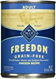 Blue Buffalo Freedom Adult Dog Chicken Dinner - Grain Free 12.5 oz (Pack of 12)