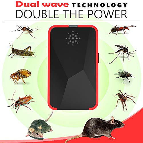 Executive-Lifestyle Pest Repeller Plug in Electronic Mice Repeller Ultrasonic Pest Repellent Ultrasonic Pest Repeller Rodent Repeller Ultrasonic