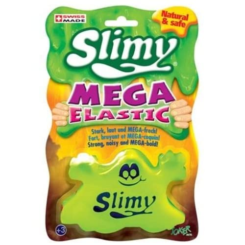 Joker AG 33805–Slimy Mega Elastic 130gr, couleurs assorties