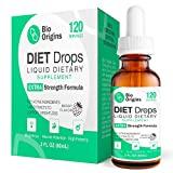 Bio Weight Loss Drops for Women & Men, Diet Drops for Weight Loss, Key Active Ingredients Niacin and Powerful Extracts, Hormone-Free HCG-Free Extra Strength, 2 Fl Oz.