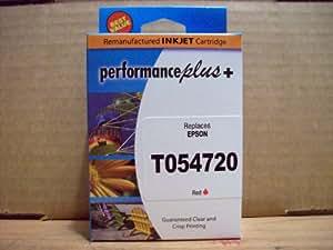 IJR - Performance Plus T054720 Epson Inkjet Cartridge, Red