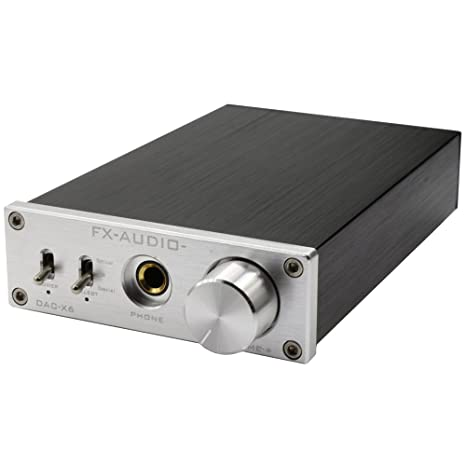 FX Audio DAC-X6 24BIT/192 - Amplificador de Audio Digital (óptico/