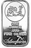 NEW (Sealed in Plastic) SilverTowne Prospector-1oz Silver Bar