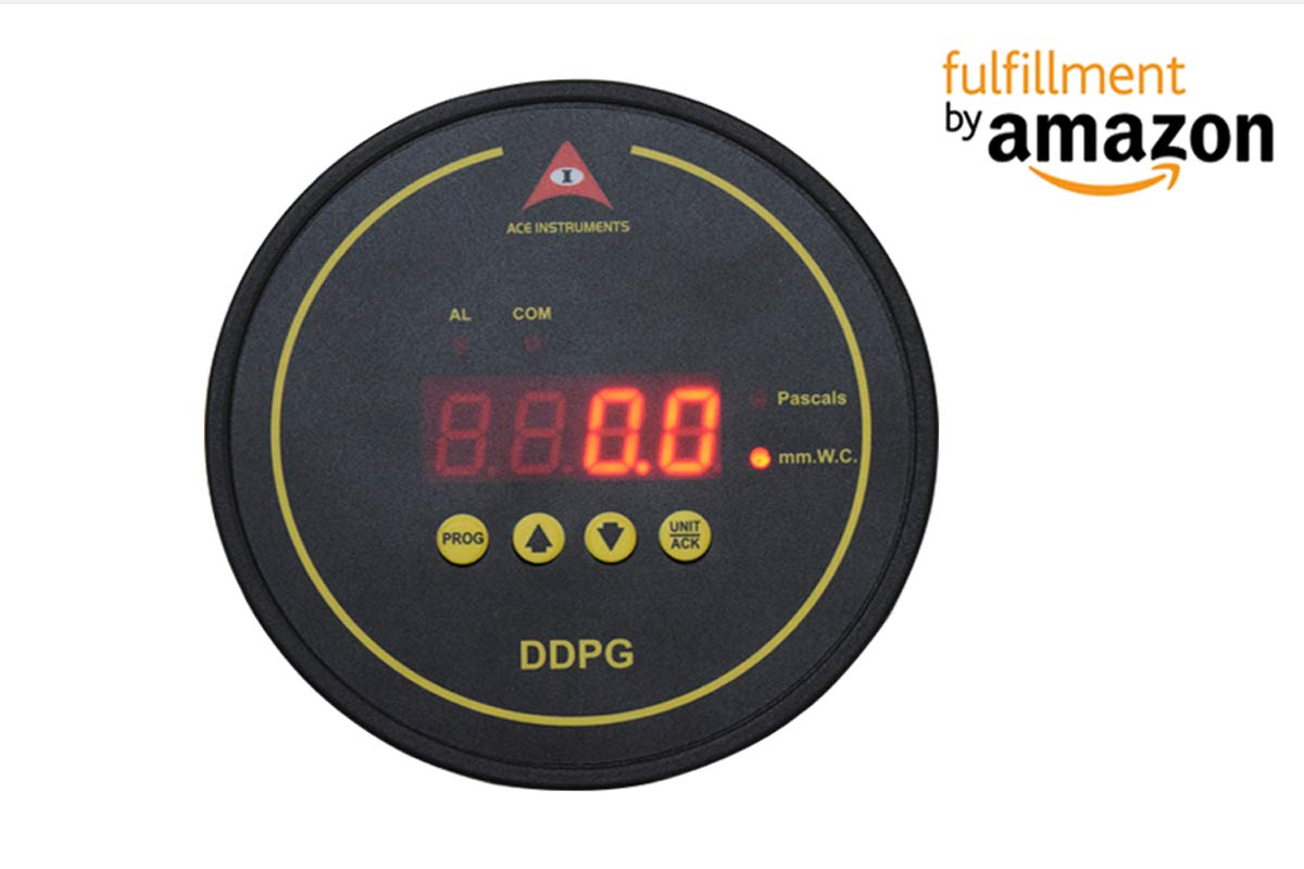 Amazon com: Digital Differential Pressure Gauge Along with