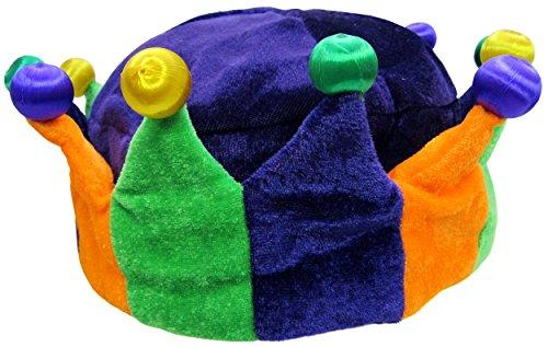 Mardi Gras Crowns (Jacobson Hat Company Women's Mardi Gras Light-Up Crown, Multi, One)