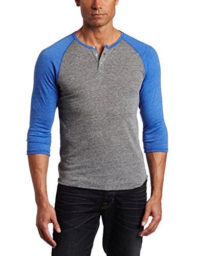 Alternative Men's Raglan Henley Shirt