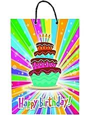حقيبة هدايا متعددة الألوان