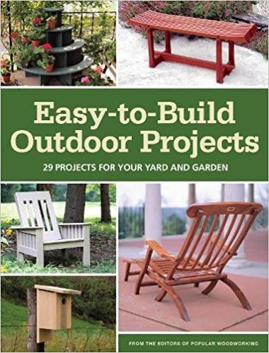Easy To Build Outdoor Projects: 29 Projects For Your Yard And Garden:  Popular Woodworking Editors: 9781440326424: Amazon.com: Books Part 51