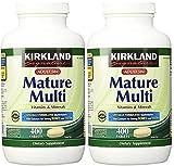Kirkland Signature Adults, 50 plus Mature Multi Vitamins & Minerals, 800-Count Tablets For Sale