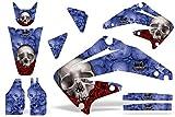 04 crf 450 graphics - Honda CRF450R 2002-2004 MX Dirt Bike Graphic Kit Sticker Decals CRF 450 R BONES BLUE