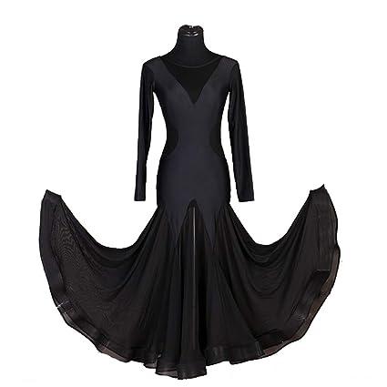 Vestidos Práctica de La Danza Salón Baile para Mujer Encaje ...