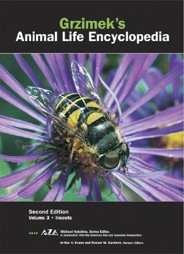 Grzimek's Animal Life Encyclopedia: Insects ebook