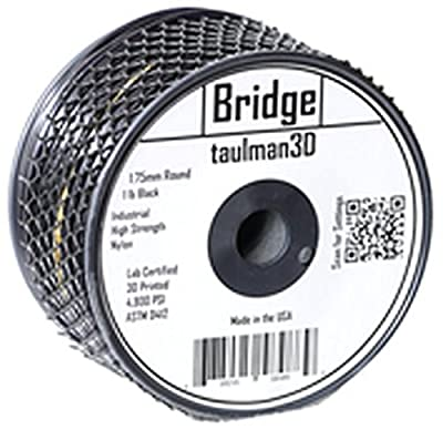 Taulman Nylon Bridge 3D Printing Filament Black - 1.75 mm