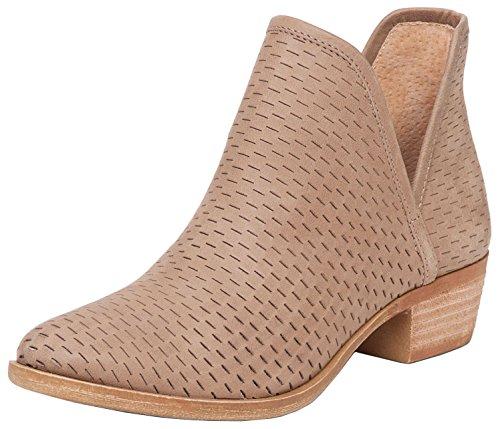 Lucky Women's LK-Baley Fashion Boot, Sesame, 7.5 Medium US by Lucky Brand