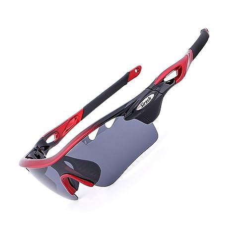 Sireck Sports - Gafas de sol polarizadas fotocromáticas para ciclismo, pesca, senderismo, UV400