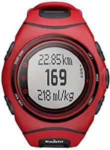 Suunto Ss015162000 T6c Heart Rate Monitor- Red