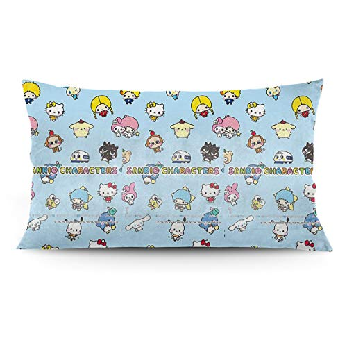 (Xzcxyadd Sanrio Characters Pillowcases Standard Size - Pillow Case 20