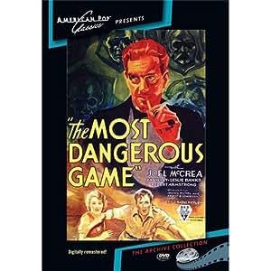 Amazon com: The Most Dangerous Game: Mccrea, Wray, Banks