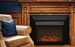 Touchstone 80009 Ingleside Electric Fireplace Insert for Mantles, 28 inch wide, 1500/750 Watt Heater (Black) from Touchstone Home Products