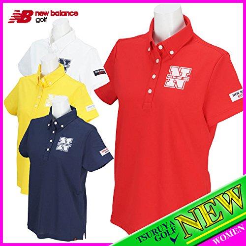 【レディース/女性用】 new balance ニューバランス 半袖ボタンダウンポロシャツ 8168502