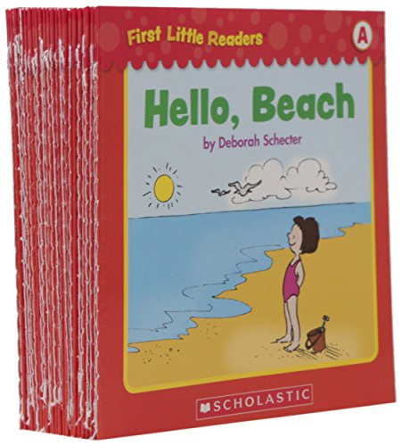 Reader Scholastic (First Little Readers Parent Pack: Guided Reading Level A: 25 Irresistible Books That Are Just the Right Level for Beginning Readers)