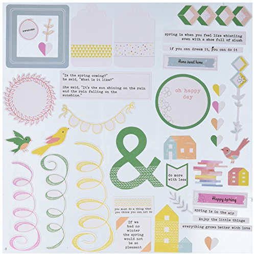 Kitchen Felicity - Pinkfresh Studio PFRC100916 Cuts Felicity Cardstock Die (42 Pack), Multicolor