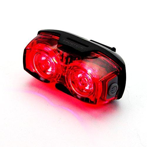 Sportsun Safety Zone Tail Light, Rear Tail Bike Light wit...