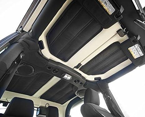 Rugged Ridge 12109.04 Black Hardtop Sound Deadener//Insulation for 4-Door Jeep Wrangler