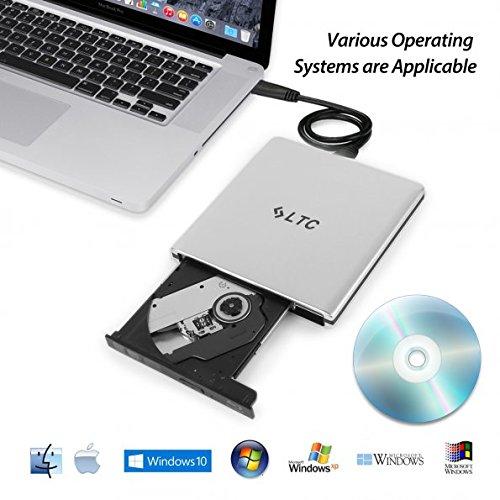 3 opinioni per LeaningTech BD-1 Super-BluDrive, Lettore DVD Blu-Ray Disc Burner e SuperDrive