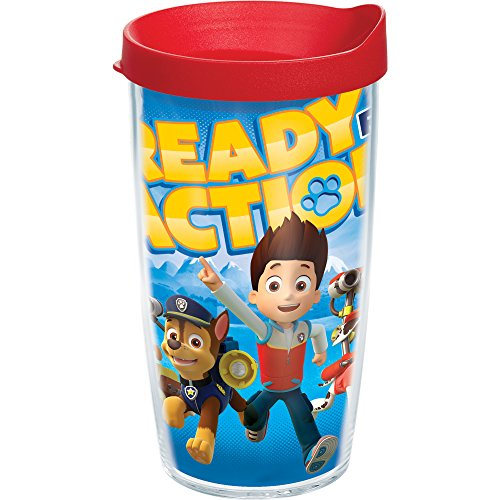 Tervis Nickelodeon Paw Patrol Tumbler with Travel Lid, 16 oz, Clear (Tumbler 16 Oz With Lid compare prices)