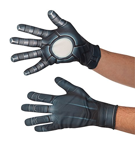 Captain America 2 Adult Costumes Gloves (War Machine Gloves Costume Accessory)