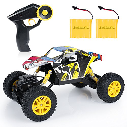 SGILE RC Car Remote Control Car - 1:18 Scale 4WD 4x4 Rock Crawlers Off-Road...
