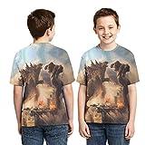 Childs Teens Fashion Godzilla VS King Kong