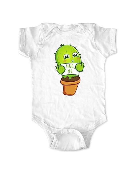 Amazon.com: Lindo y divertido bebé Hug Me Cactus diseño de ...