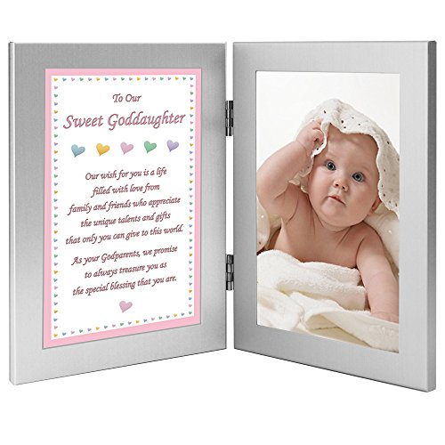 Godchild Gift from Godparents to Our Sweet Goddaughter Add Photo by Poetry Gifts