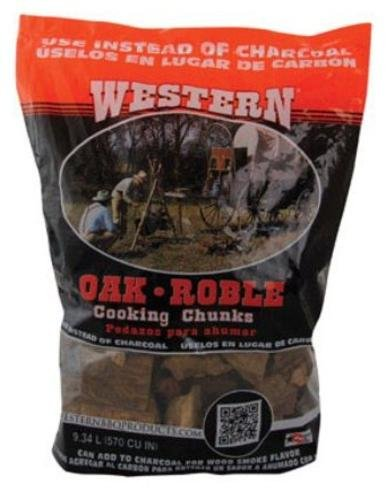 Western Premium BBQ Products Post Oak Cooking Chunks, 570 cu inch (Cooking Chunks)