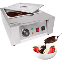 ALDkitchen Chocolate Melting Pot | Manual Control Chocolate Melter | 1 Tank for 8 kg of Tempered Chocolate | 110V | 1kW