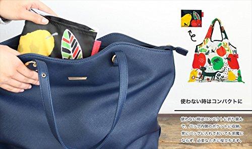 Shopping Bag Eco Bag Foldable Designers Japan Bird Song