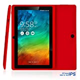 NPOLE N718 7 Inch Tablet Android IPS Display 16G ROM 1G RAM Quad core 1.3 GHz CPU Dual Camera Red