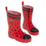 Kidorable red ladybug rain boots size 7 - Best Reviews Guide