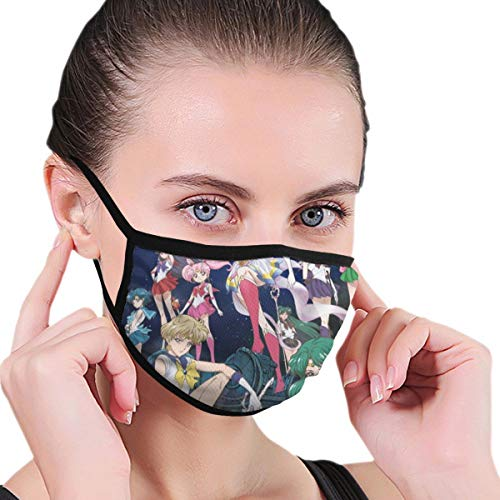 Dean Carnegie Sa_ilor Mo_on Face Mask Adjustable Mouth Mask Anti Dust Face Mouth Mask Reusable Mask for Cycling Camping Travel