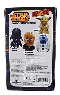 Star War's Talking Plush Yoda Santa