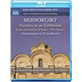 Mussorgsky: The Nursery; Pictures at an Exhibition; Songs & Dances Of Death (Blu Ray Audio)