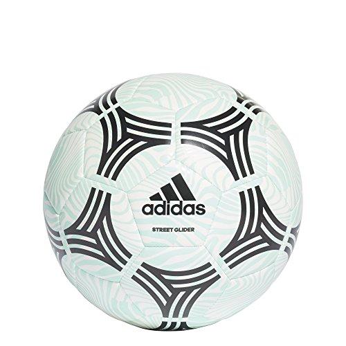 adidas Performance Tango Street Glider Soccer Ball, Clear Mint, Size 5 ()