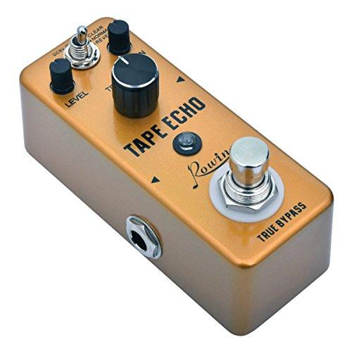 Rowin Digital Tape Echo Guitar Effect Pedal 100ms-0.6s Delay True ()